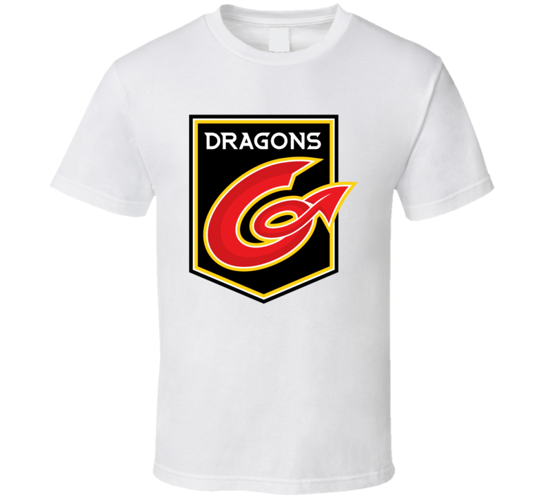 Dragons Rugby Logo T Shirt