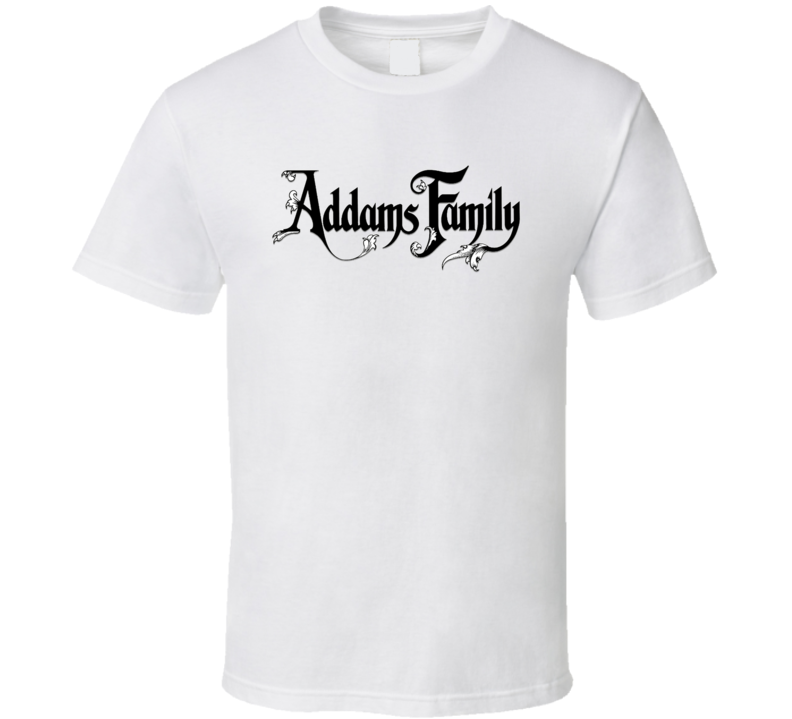 Addams Family Logo T Shirt
