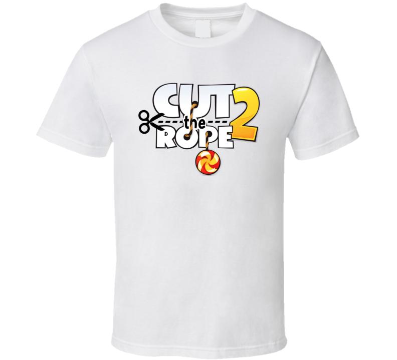 Cut The Rope 2 Logo T Shirt