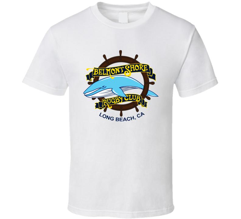 Belmont Shore Rugby Logo  T Shirt