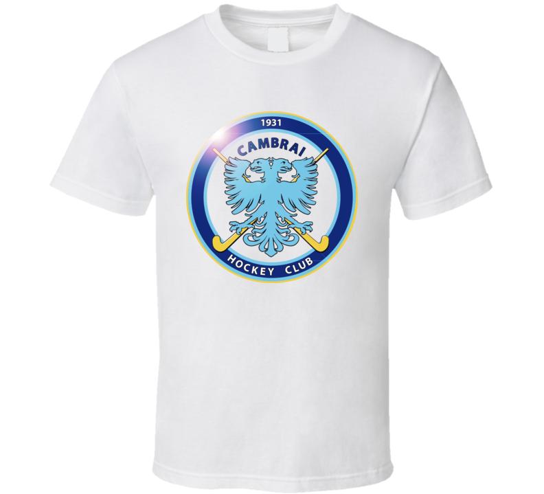 Cambrai Hockey Club Logo Copy T Shirt