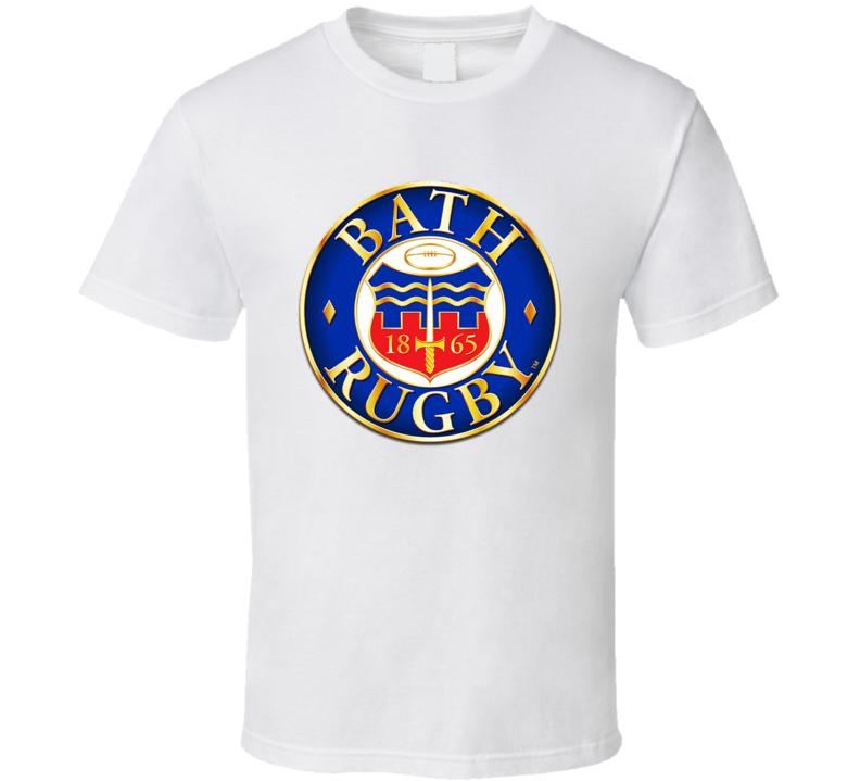 Bath Rugby Logo T Shirt