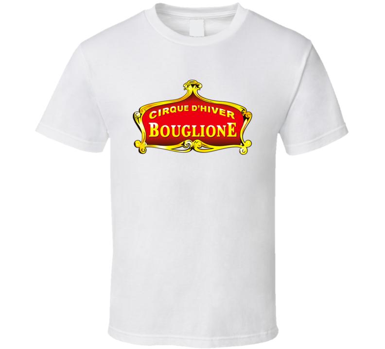 Bouglione Logo Cirque D Hiver T Shirt