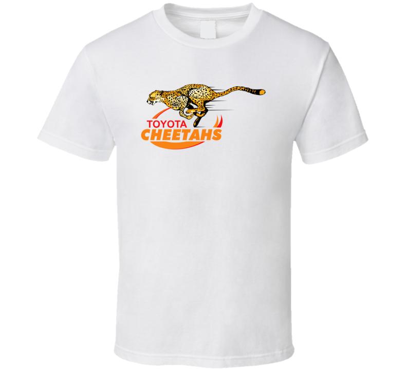 Cheetahs Rugby Logo T Shirt