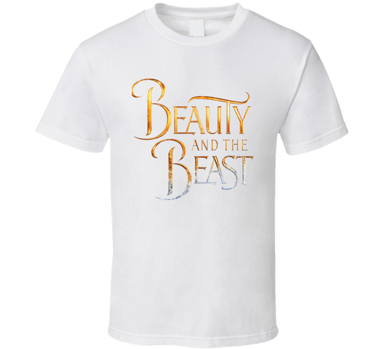 Beauty And The Beast New Logo T Shirt