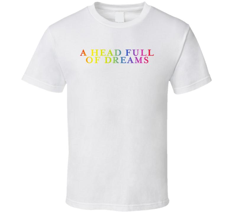 A Head Full Of Dreams Logo T Shirt