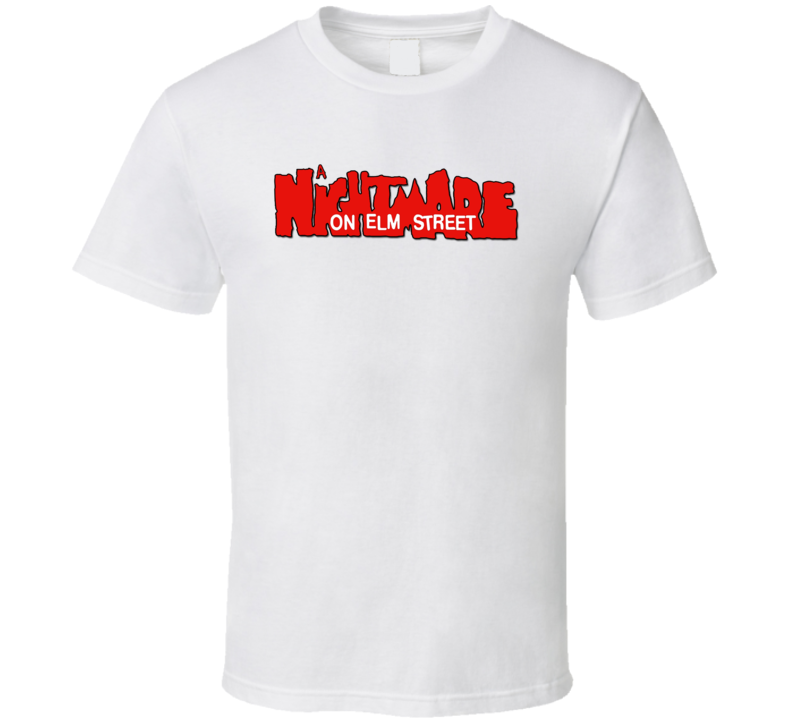 A Nightmare On Elm Street Logo T Shirt