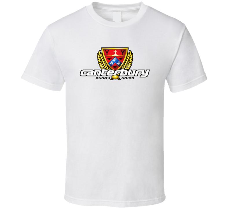 Canterbury Rugby Union Logo T Shirt