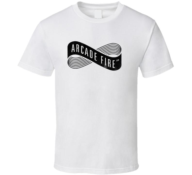 Arcade Fire Logo T Shirt