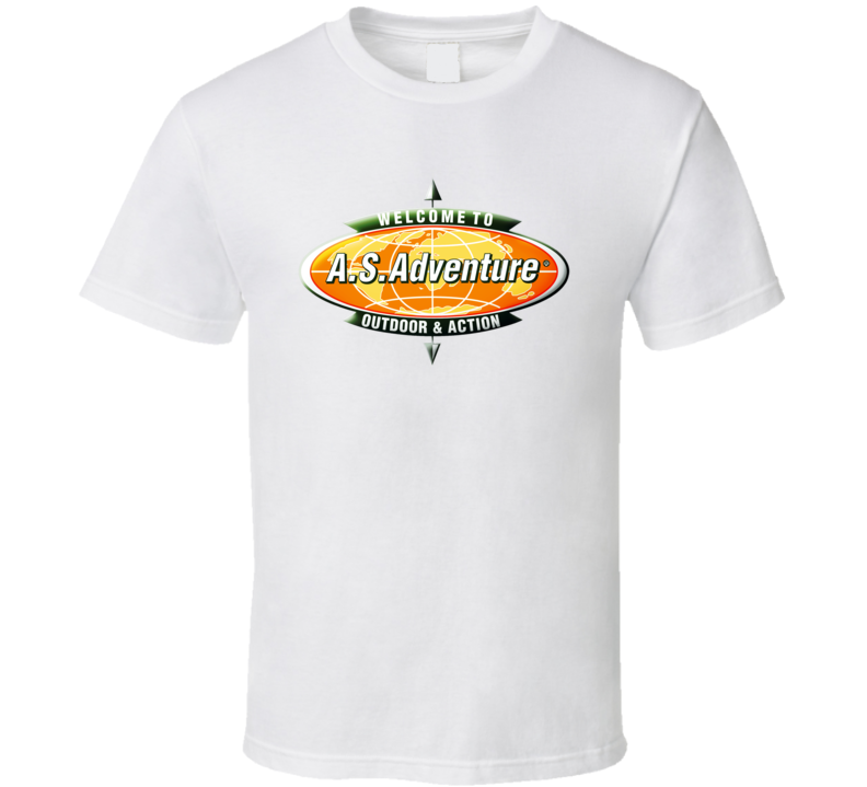 As Adventure Logo  T Shirt