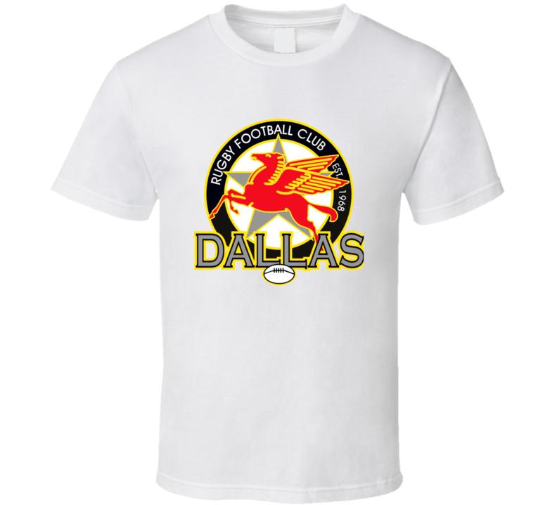 Dallas Rugby Logo T Shirt