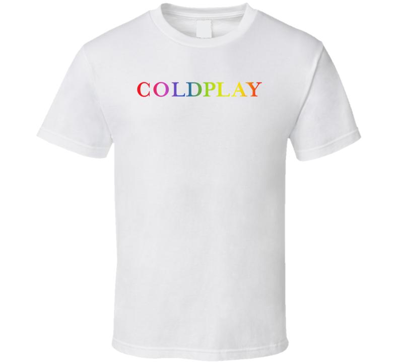 Coldplay Head Full Of Dreams Logo  T Shirt