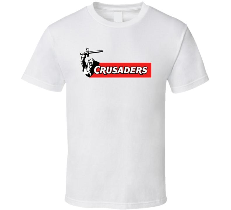 Crusaders Rugby Team Logo T Shirt