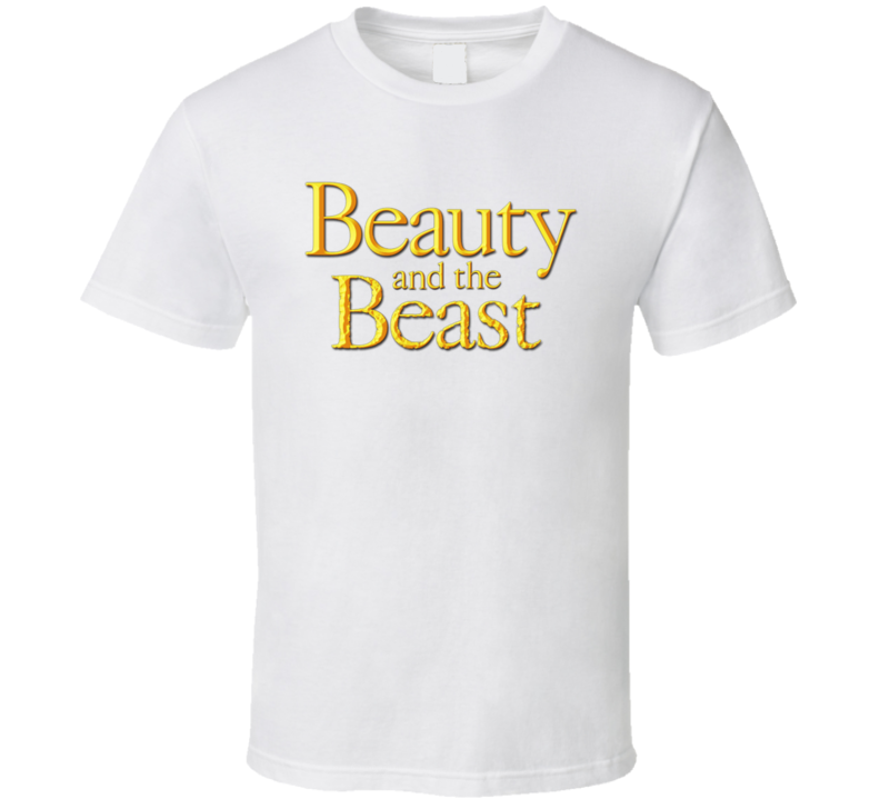 Beauty And The Beast Logo T Shirt