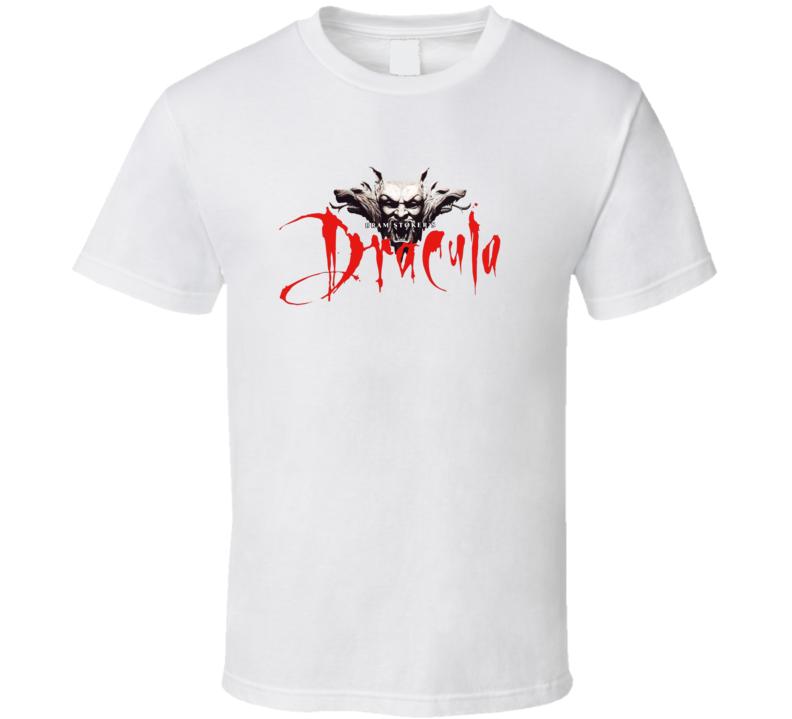 Dracula Logo And Monsters T Shirt