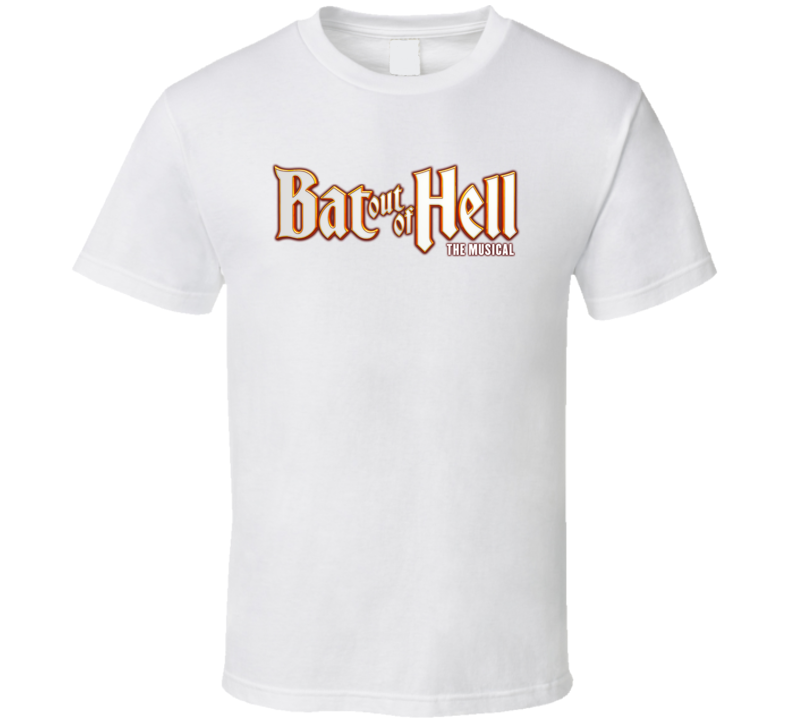 Bat Out Of Hell The Musical Logo T Shirt