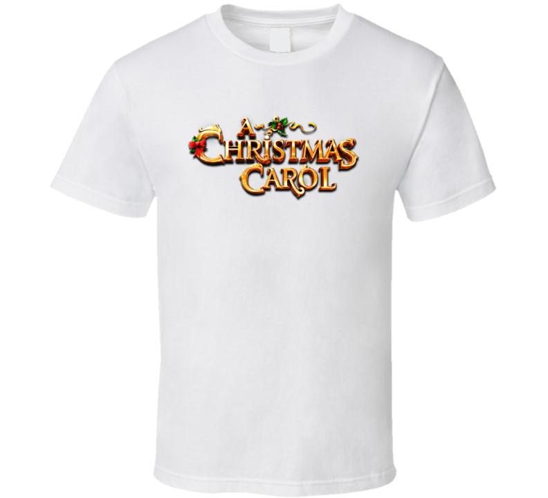 A Christmas Carol Logo T Shirt