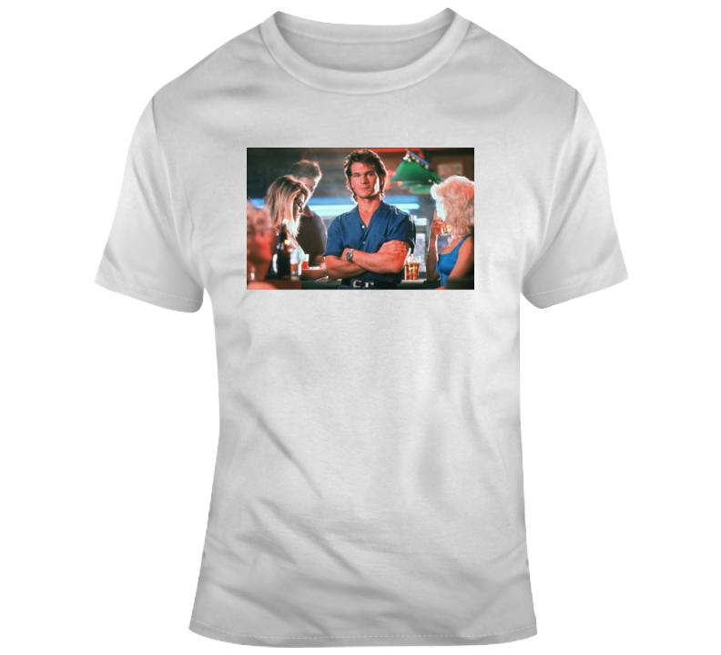 Patrick Swayze road house pain hurt T Shirt