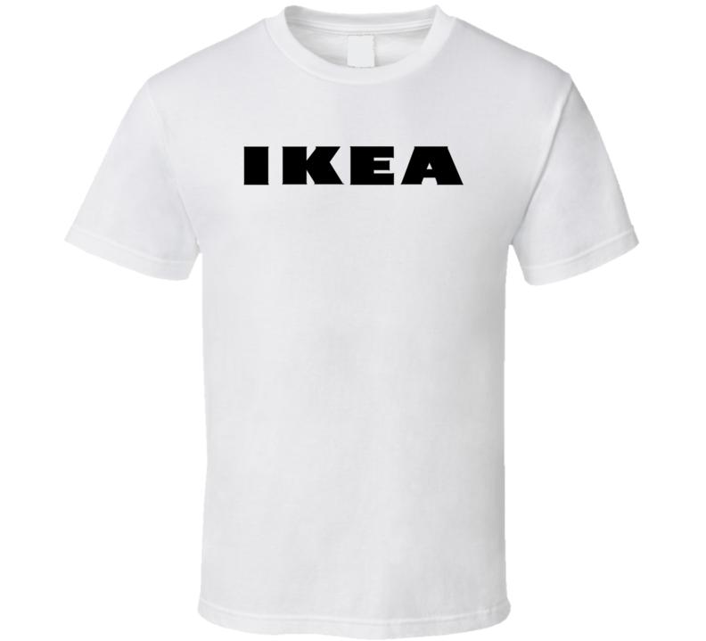 Ikea Black Logo T Shirt