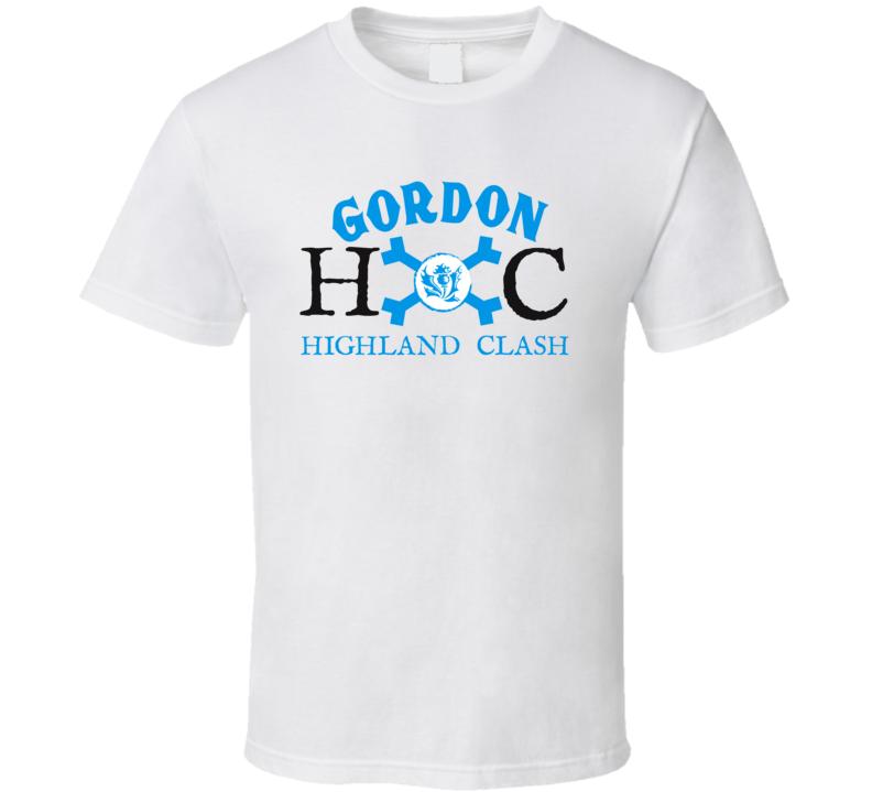 Gordon Highland Clash Hc Logo  T Shirt