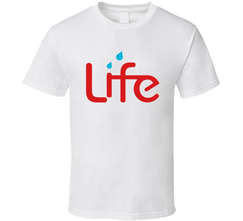 Life Water Logo T Shirt