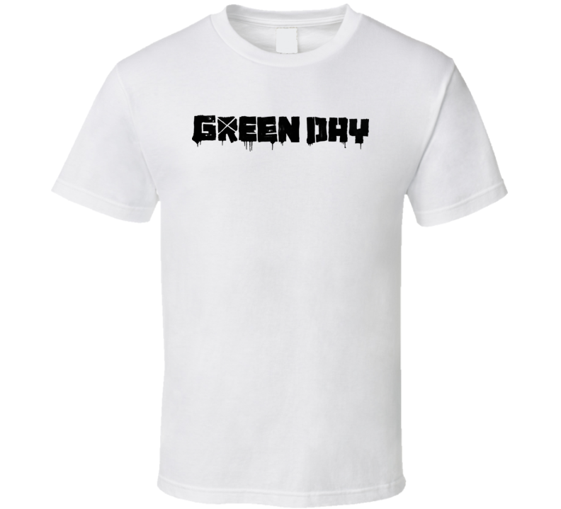 Green Day Logo T Shirt