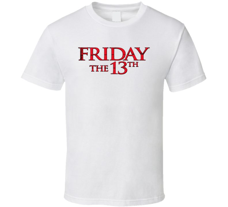Friday The 13th Logo T Shirt