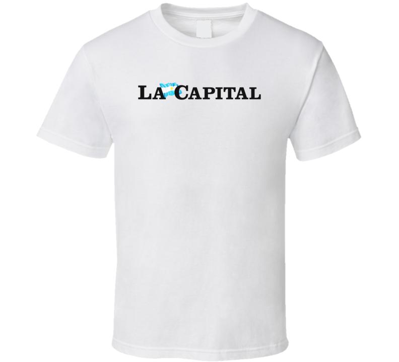 Newspaper La Capital Logo  T Shirt