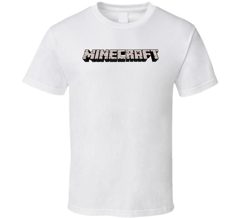 Logo Minecraft  T Shirt