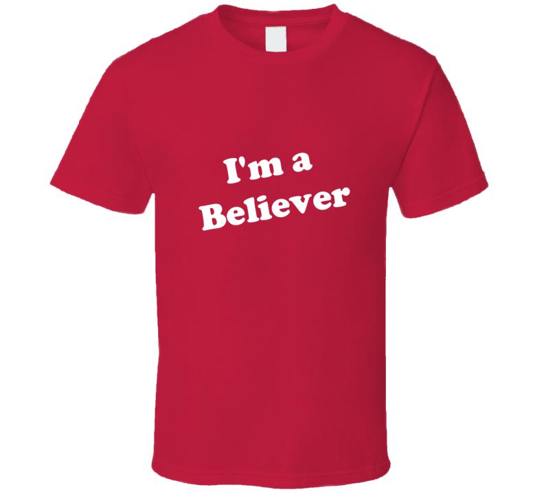 I'm a Believer Stacey Kiebler Dr. Pepper T Shirt