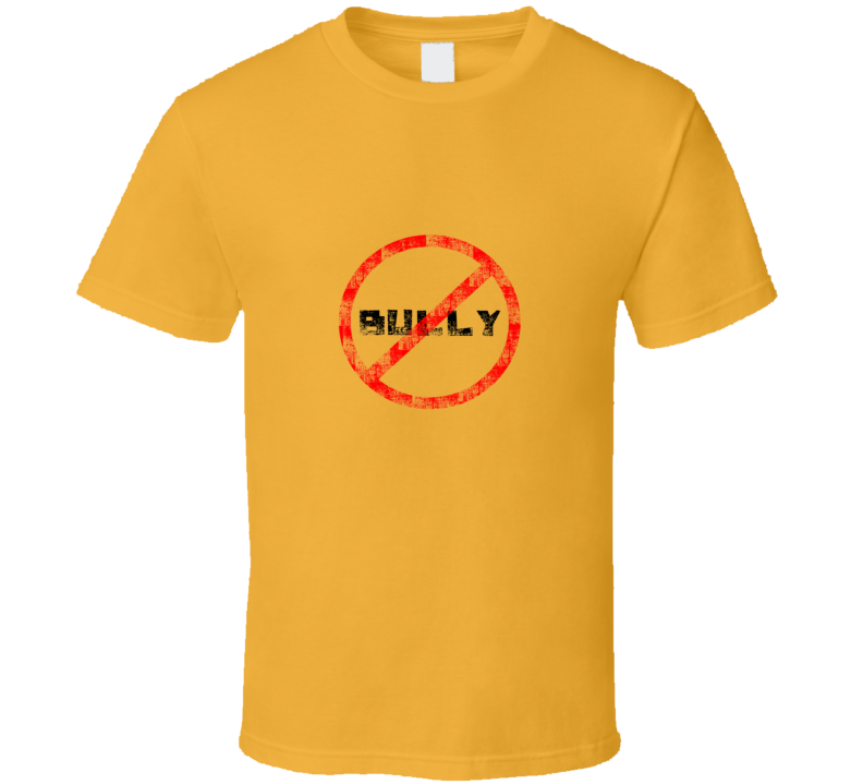No Bully Kate Upton Yellow T Shirt