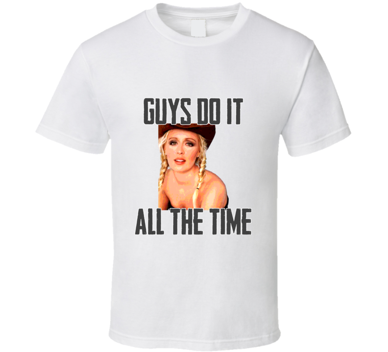 Mindy McCready Guys Do It All The Time White T Shirt