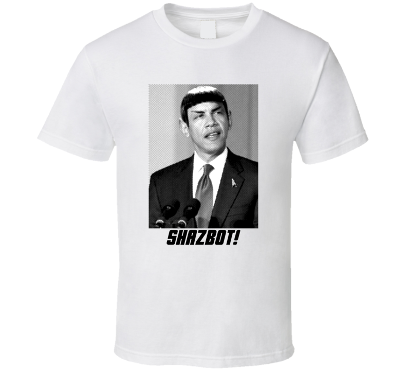 Obama Star Trek T Shirt