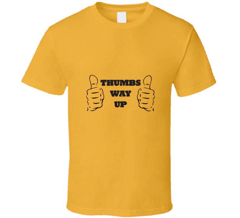 Roger Ebert Thumbs Way Up Two Thumbs Up  T Shirt