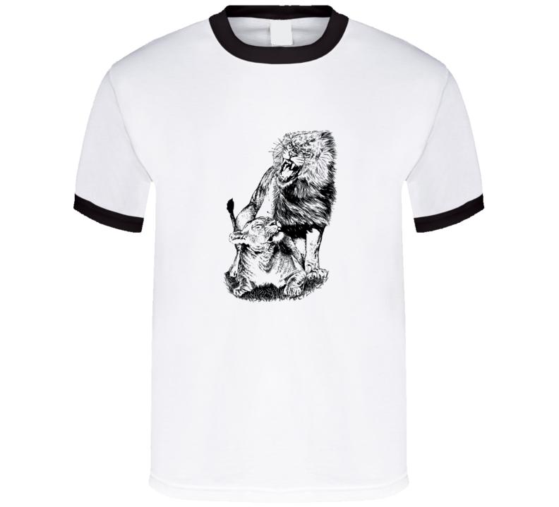Lion Love T Shirt
