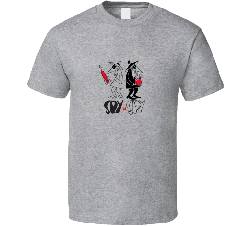 SPY vs SPY Retro Grey T Shirt
