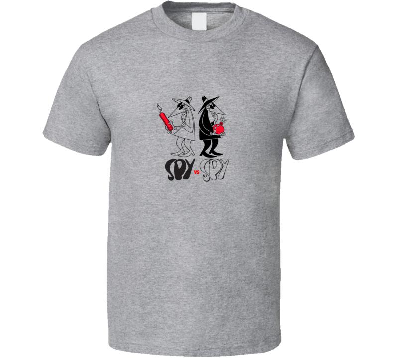 SPY vs SPY Retro Grey T Shirt