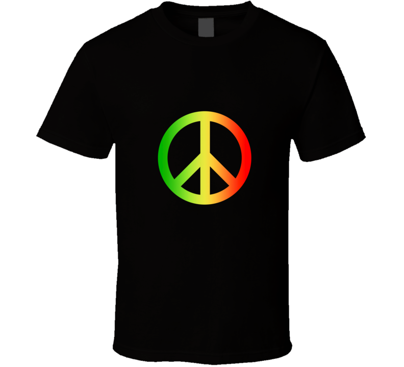 Rasta Peace T Shirt