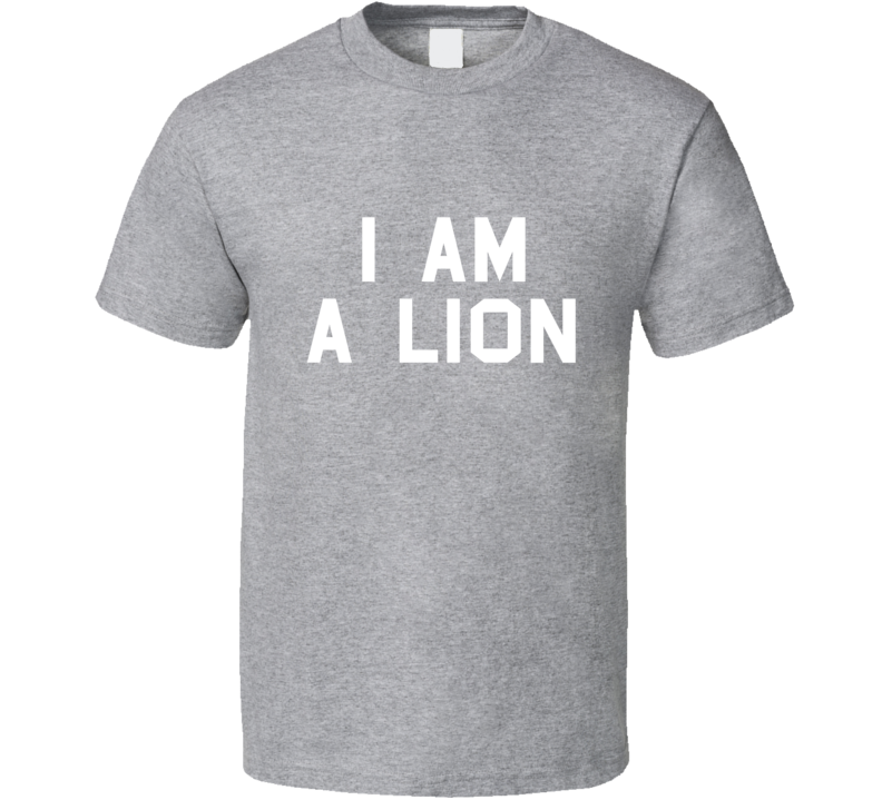 Snoop Dogg I am a Lion T-Shirt