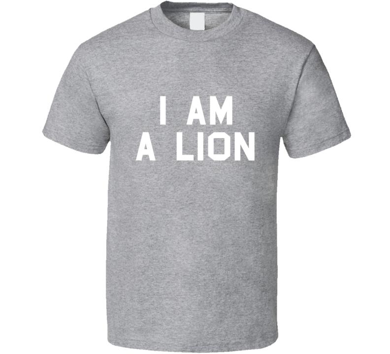 Snoop Dogg I am a Lion T-Shirt