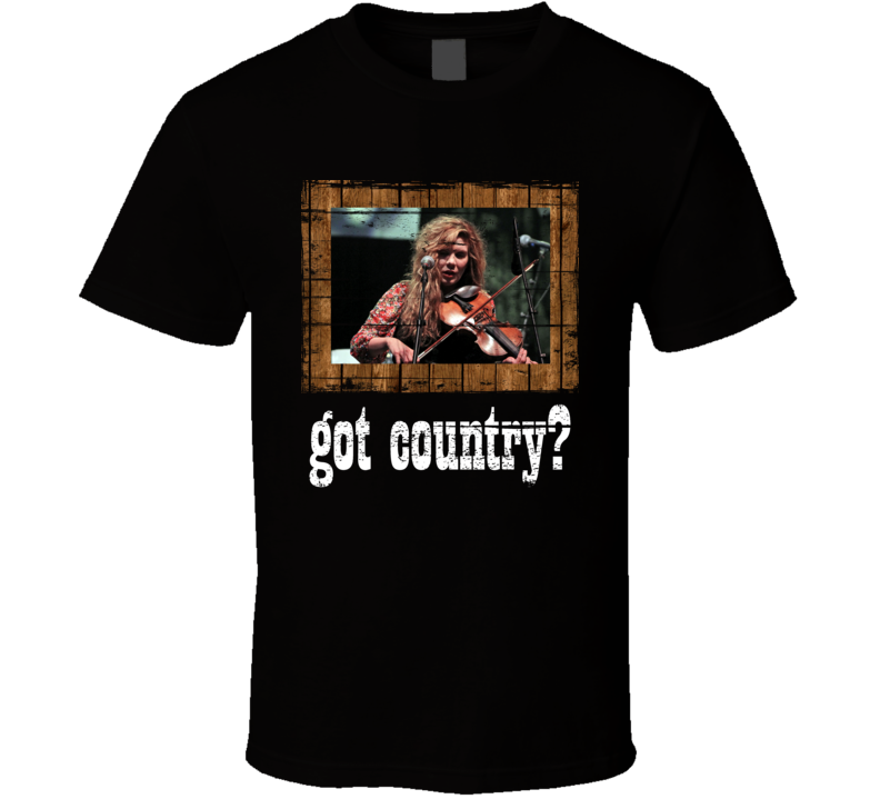 Alison Krauss  Got Country Distressed Image T Shirt