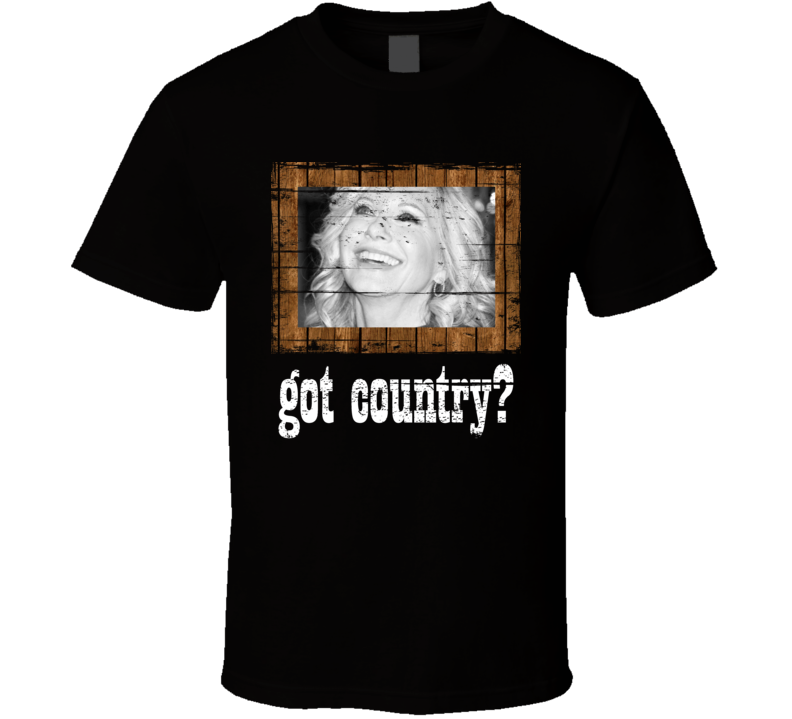 Connie Smith  Got Country Distressed Image T Shirt
