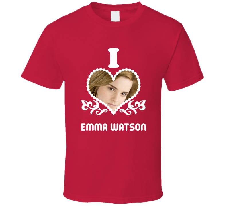 Emma Watson I Heart Hot T Shirt