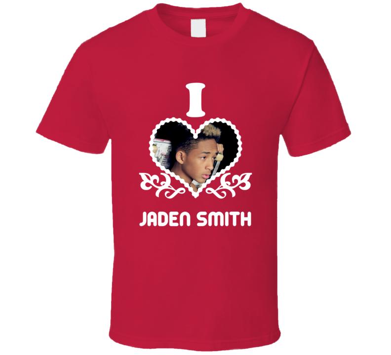 Jaden Smith I Heart Hot T Shirt