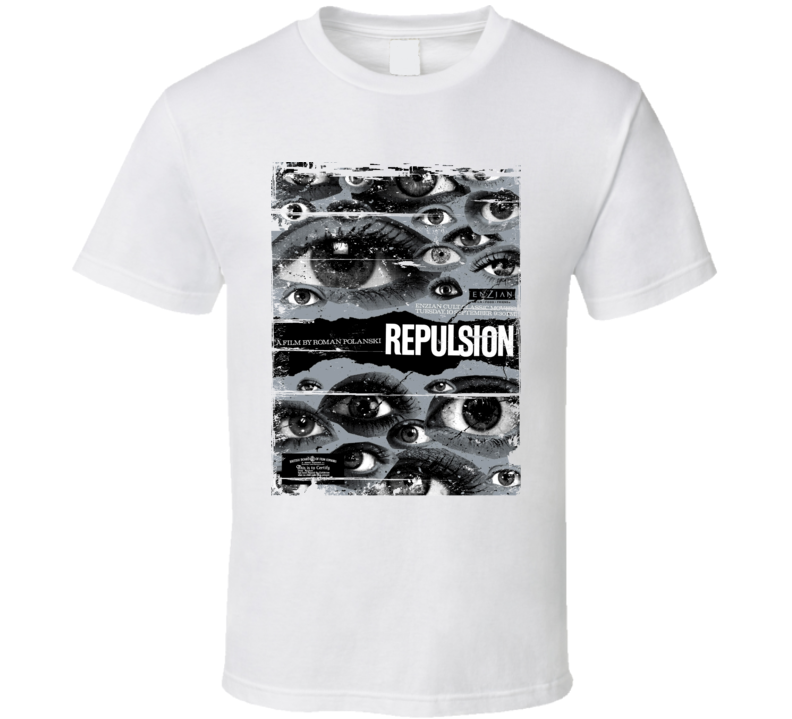 Repulsion  Classic Movie Poster Aged Look T Shirt