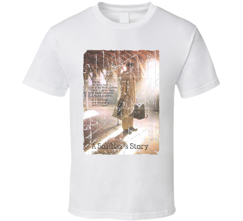 A Soldiers Story Movie Poster Retro Aged Look T Shirt