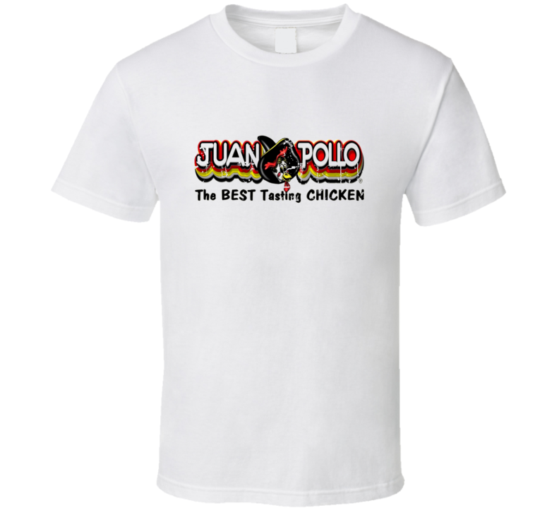 Juan Pollo Fast Food Restaurant Distressed Look T Shirt