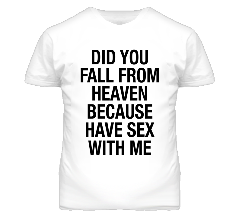 Did You Fall From Heaven T Shirt