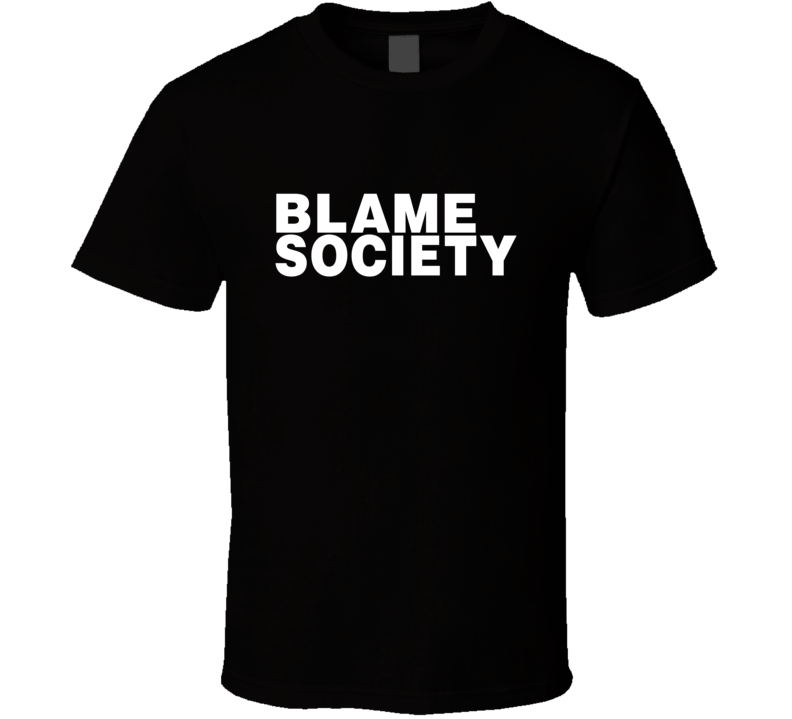 Jay-Z Blame Society T Shirt