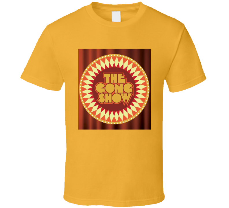 Chuck Barris The Gong Show Logo T-Shirt
